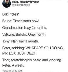 24 Ideas Funny Comics Superhero Loki For 2019 Funny Marvel Memes, Marvel Jokes, Dc Memes, Avengers Memes, Funny Comics, Memes Humor, Marvel Comics, The Avengers, Marvel Avengers