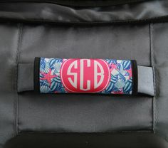 Custom Luggage Handle Wrap Monogram Suitcase Finder Personalized Decor Travel Gifts For Women By Chicmonogram On