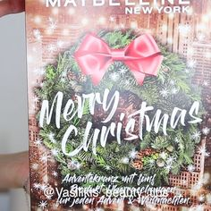 """Vasiliki's Instagram video: """"Unboxing of the new Maybelline Advent Calendar 2020! 🧡🎥Link in my Bio! 📽🧡I got mine from @flaconi.de! Do you like beauty advent calendars?🎉…"""""""