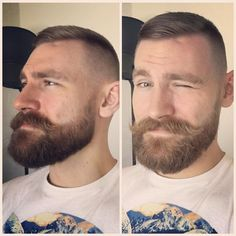 Best Beards Styles Probably one of the most common questions that I ever get is how do I make my beard thicker and fuller? Beards And Mustaches, Beard No Mustache, Moustaches, Beard Styles For Men, Hair And Beard Styles, Short Hair Styles, Great Beards, Awesome Beards, Short Beard