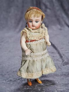 "8"" (20 cm.) 8"" German All-Bisque Doll by Kestner Known as ""French Wrestler"" 300/500"