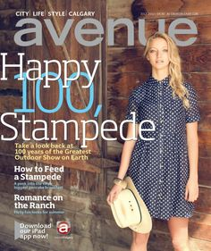 Numa Model Twyla Hayes on the cover of Avenue Magazine The Ranch, City Life, Calgary, Cover, Magazines, Fun, Journals, Magazine, Blankets