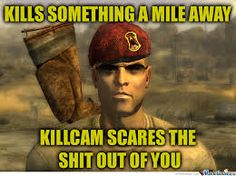 Fallout: New Vegas Players Will Know by elstormo - A Member of the Internet's Largest Humor Community Fallout Facts, Fallout Meme, Fallout New Vegas, Fallout Comics, Video Game Logic, Vault Tec, I Love Games, Tv Show Games, Gamer Humor