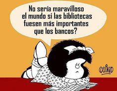 ; ¡¡Mafalda qué grande eres!!…Me encantas…