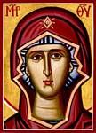 Theotokos - I love this interpretation.