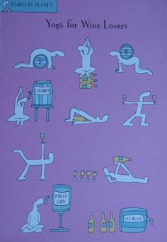 Yoga for Wine Lovers! :)
