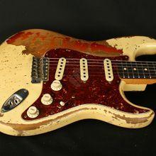 Fender Stratocaster 64 Ultra Relic Masterbuilt Jason Smith (2016): Detail-Bilder