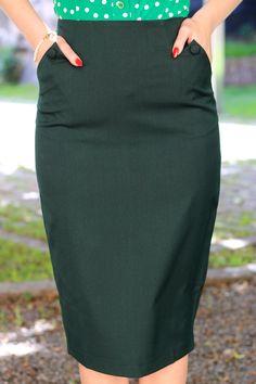 Daisy Dapper Collection Lisa skirt Green