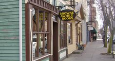 Browse Awhile Books - Tipp City, Ohio. Stacks and stacks of great finds for your reading pleasure!