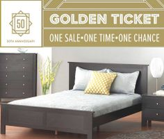 Clean lines with a low profile and paneled foot and headboard. The Sale price is the best ever! Parklands Queen Bed, $215. Sale ends December 31, 2013.