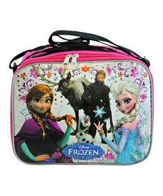 Love this Pink Frozen Rectangle Lunch Bag on #zulily! #zulilyfinds