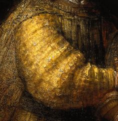 Rembrandt. The Jewish Bride (detail)  ca. 1666