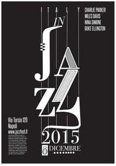 Jazz festival poster 2015 on Behance