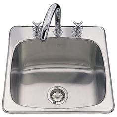 Utility Sink With Countertop : Utility Countertop & Sink on Pinterest Stainless steel kitchen sinks ...