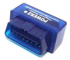 Bluetooth Supper Mini OBD 2/OBD II ELM 327 Power 2 Read diagnostic trouble codes-Blue by Elandpower. $24.95. Features: New bluetooth power of ELM327 is the newly developed wireless scan tool. It supports all OBD-II protocols  Works with all OBD-II compliant vehicles:  * Wireless (Bluetooth)  * Support Palm, PDA, Windows PC, Windows Smartphone  * Supports ISO 9141, KWP2000  * Supports SAE J1850  * Supports CAN bus  Functions: * Read diagnostic trouble codes, both generic an...