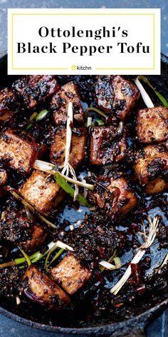 Tofu Recipes, Asian Recipes, Cooking Recipes, Healthy Recipes, Cooking 101, Healthy Nutrition, Kitchen Gourmet, Gourmet Desserts, Vegan Vegetarian