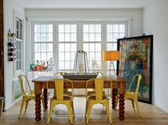 Dining Room, Dining Room Table And Chairs: Eclectic Dining Room Chairs