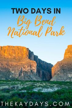 Big Bend National Park sits on the Texas-Mexico border and is one of the most beautiful places in the US. Even if you only have a few days, you can see its highlights. This post highlights a great way to spend a weekend in Big Bend!
