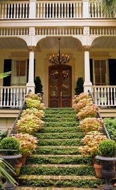 sadie + stella: Monday Musings: Magical Porches