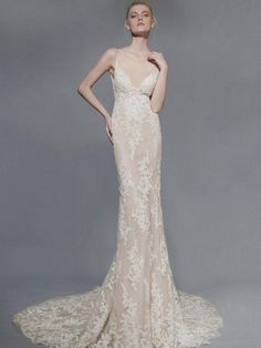 Victoria KyriaKides Spring Wedding Dresses: Bridal Fashion Week Photos