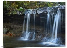 Buy positive energy horizontal wall art photo Cayuga Falls, Ricketts Glen State Park, Pennsylvania by Tim Fitzharris, which is available for sale in our fine art waterfall photos collection. This Feng Feng Shui Wall Art, Feng Shui Paintings, Horizontal Wall Art, Waterfall Photo, Road Trip Usa, Stretched Canvas Prints, Photo Wall Art, Trip Planning, State Parks
