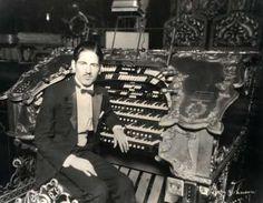 Don Isham was a popular Northwest organist who also toured nationally. He is shown here at Chicago Uptown Theatre Wurlitzer, c.1927.