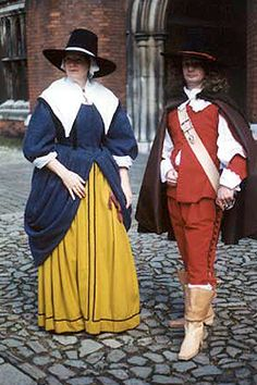 NINYA MIKHAILA - HISTORICAL COSTUMIER 1650s costumes made for JMD&Co at Hampton Court Palace.