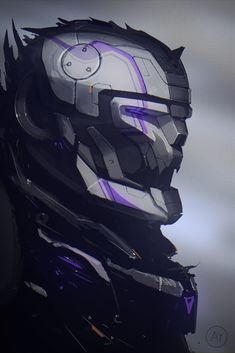 Robot, Andrey Terentev on ArtStation at https://www.artstation.com/artwork/Ar21o