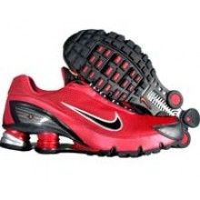 Nike Shox Turbo IV 315378 601 red black silver