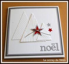carte de noel Plus More - Christmas Pins 2019 Christmas Mini Albums, Christmas Origami, Christmas Minis, Handmade Christmas, Homemade Christmas Cards, Christmas Cards To Make, Homemade Cards, Holiday Cards, Winter Cards