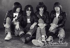 The Ramones by Adrian Boot #ramones #ramone www.RockPaperPhoto.com