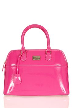 """Paul's Boutique - """"Maisy"""" large bag in neon pink. Paul's Boutique, New Handbags, Everything Pink, Clutch Purse, Girly Things, Pretty In Pink, Bag Accessories, Purses And Bags, Shoulder Bag"""