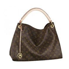 Authentic Louis Vuitton Womens Artsy Monogram MM Handbag (M40249) | Designer Purses and Handbags