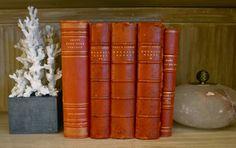 red books. via SummerHouse   Ridgeland, MS