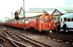 Standard Stock straight out of overhaul at Acton Works 14 June 1966.