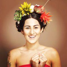 Kecya Felix em performance ID-_Homenagem a Frida-Kahlo