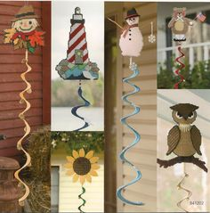 Seasonal Wind Spinners Plastic Canvas Book by needlecraftsupershop, $9.99