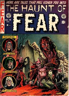 Vintage Comic Books, Vintage Comics, Comic Books Art, Vintage Art, Creepy Comics, Horror Comics, Arte Horror, Horror Art, Creepy Horror