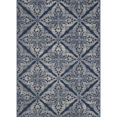 Found it at Joss & Main - Jennifer Blue & Gray Hand-Tufted Area Rug $119