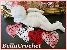 Ravelry: Sweetie Hearts Applique or Ornament pattern by Elizabeth Ann White