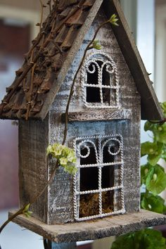 Ornamental Birdhouse 2 by Douglas Barnett - Ornamental Birdhouse 2 Photograph - Ornamental Birdhouse 2 Fine Art Prints and Posters for Sale Gnome House, Bird Cages, Fairy Houses, Little Houses, Yard Art, Bird Feathers, Beautiful Birds, Fine Art, Canvas Art