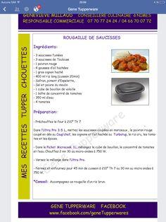 Rougaille saucisse Tupperware