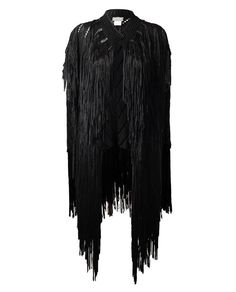 Full Hand-fringed Knit Jacket by TIM RYAN at Browns Fashion for £1,200.00