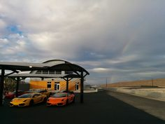 at the end of the rainbow...is a racetrack and the Fastest Experience in Vegas! #SPEEDVEGAS #endoftherainbow
