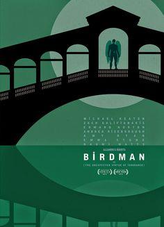 International city poster, Birdman, Fox Searchlight UK.