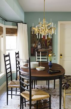 Benjamin Moore Antique Glass for possible front room color