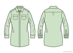 Women Shirt Dress Vector Fashion Apparel