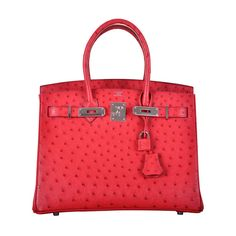 cheap replica hermes bags - HERMES BIRKIN BAG 30CM OSTRICH TERRE CUITE PINK WITH PALL HARDWARE ...