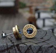Gun Shell Jewelry - The Bullet Earrings Are Surprising and Dangerously Elegant (GALLERY)