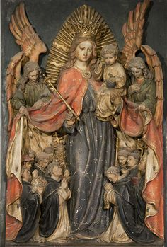 Patronage of the Blessed Virgin Mary over the Order